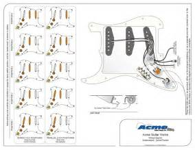 fender stratocaster wiring diagram flow chart