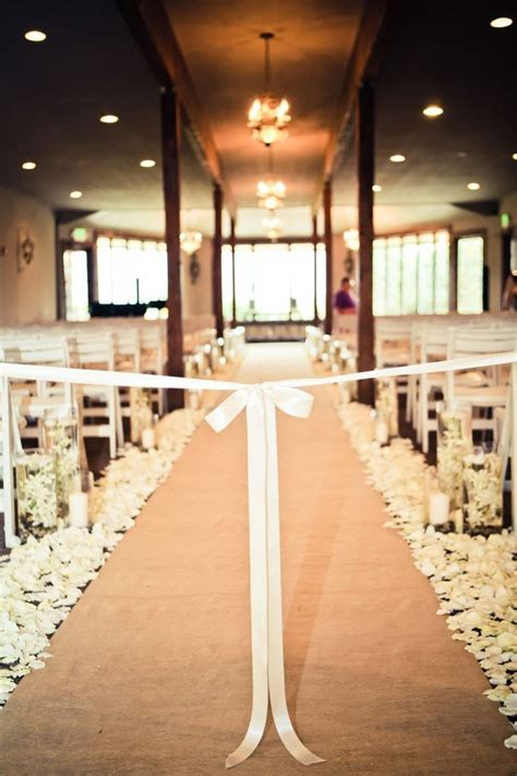 breathtaking wedding aisle decoration ideas  steal