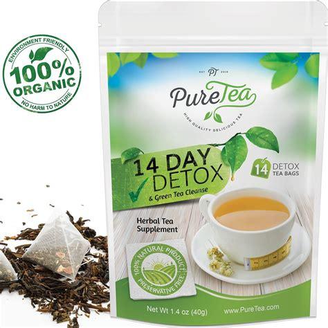 Organic Detox Cleanses by Puretea Tea Gentle Diet Detox Tea