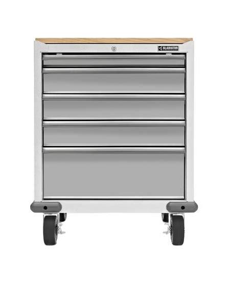 gladiator garageworks garage cabinets gladiator garageworks 5 drawer geardrawer gagd275dzw