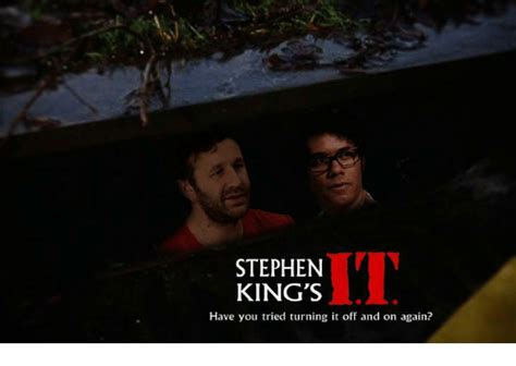 Stephen King Meme - stephen king s have you tried turning it off and on again