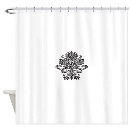 Single Damask Png Shower Curtain By Printedlittletreasures