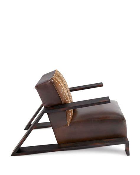 hickory tannery starrett hairhide chair