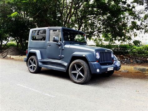 mahindra thar modified to wrangler stunningly modified mahindra thar to wrangler jeep mumbai