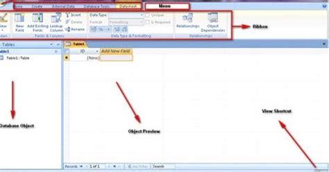 membuat erd di access sistem informasi tutorial membuat tabel database di ms