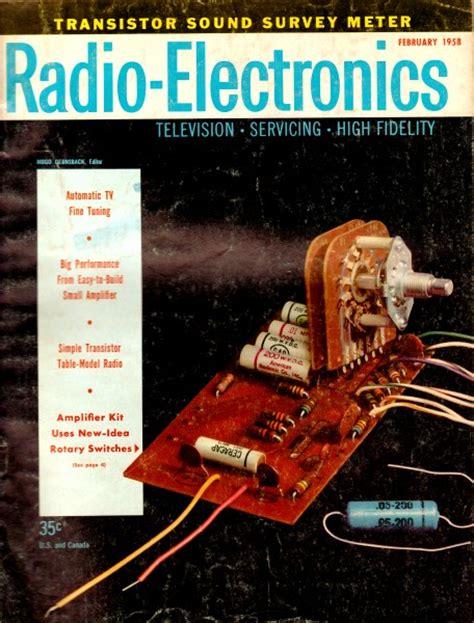 vintage radio electronics magazine articles rf cafe