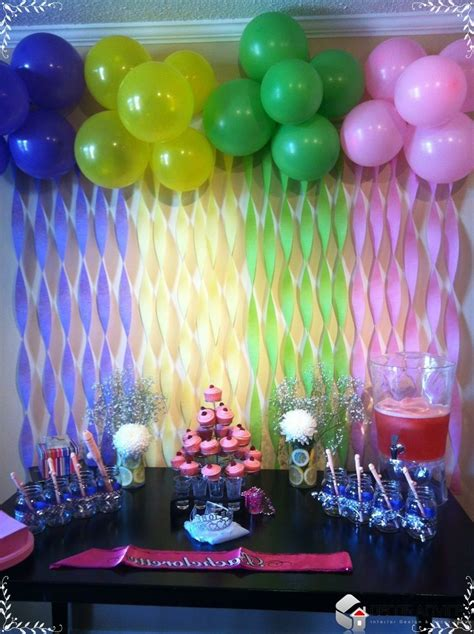 home made decor best 20 birthday decorations ideas on