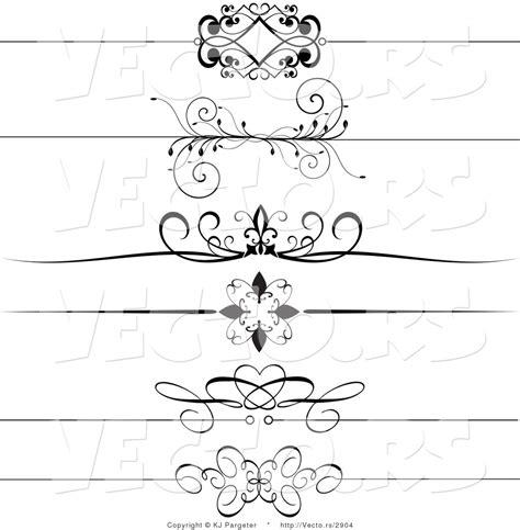 header design black and white 13 vector header border images decorative ribbon clip