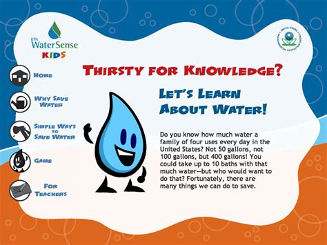 Water Resource For Girl Scout Brownies Working On The Wow