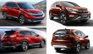 Honda Crv Generations 2017 Honda Cr V Vs 2016 Honda Cr V Differences Between