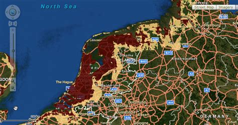 netherlands map sea level sea level rise coming to a place near you