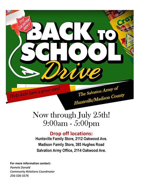drive penil pdf salvation army of huntsville al back to school drive