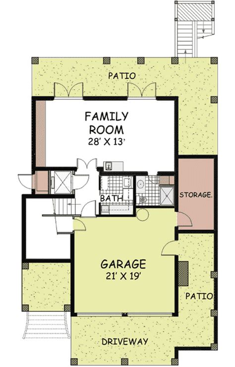 drive under house plans with elevator drive diy home plans coastal breeze 13023fl 2nd floor master suite beach