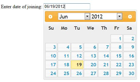 calendar layout js step towards dot net how to use jquery calendar in asp net