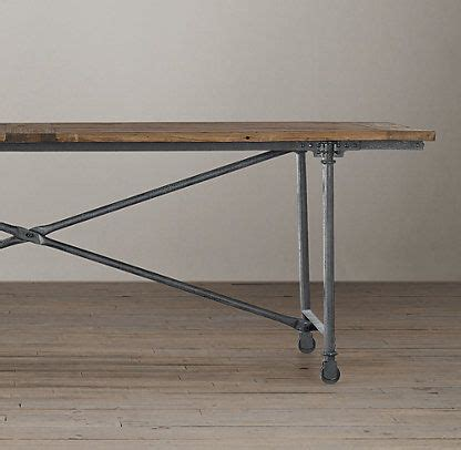 dining table flatiron dining table restoration hardware