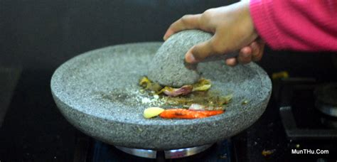 Panggangan Bakar Batu cobek batu bakar cobek batu sekaligus batu bakar