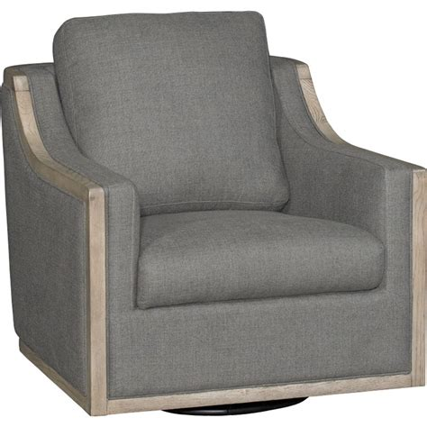 Gray Swivel Chair - charcoal gray swivel barrel accent chair bayly rc