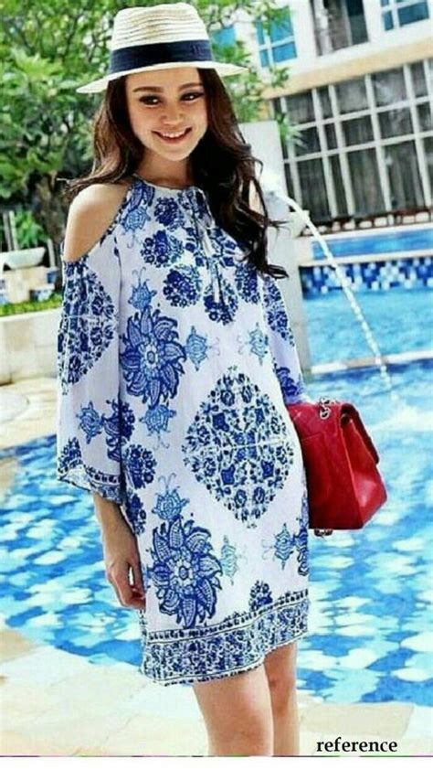 Rukma 3 Sabrina Baju Gamis jual beli ethnic sabrina porcelain dress busana