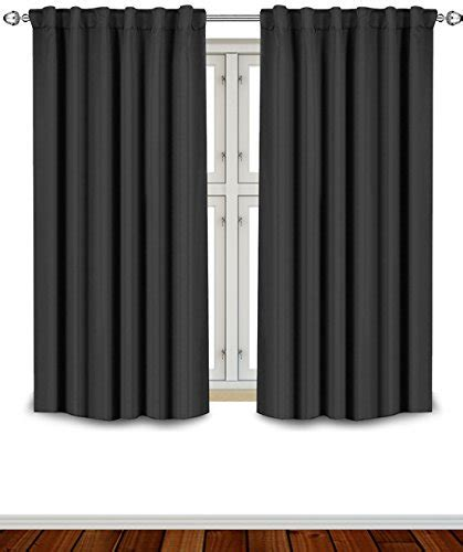 blackout curtains 63 inches long lowest price blackout room darkening curtains window