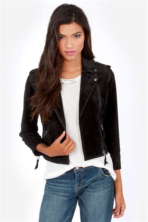 Suede Bludru Not Leather Ip55sse66s677 obey hitch hiker jacket black jacket suede leather jacket 171 00