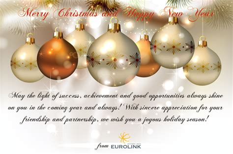 merry christmas and happy new year eurolink investment