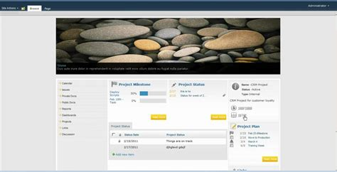 sharepoint 2010 site templates cool project site template sharepoint 2010