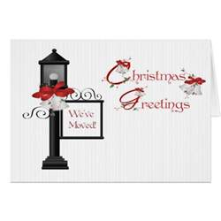lpost address change greeting card zazzle