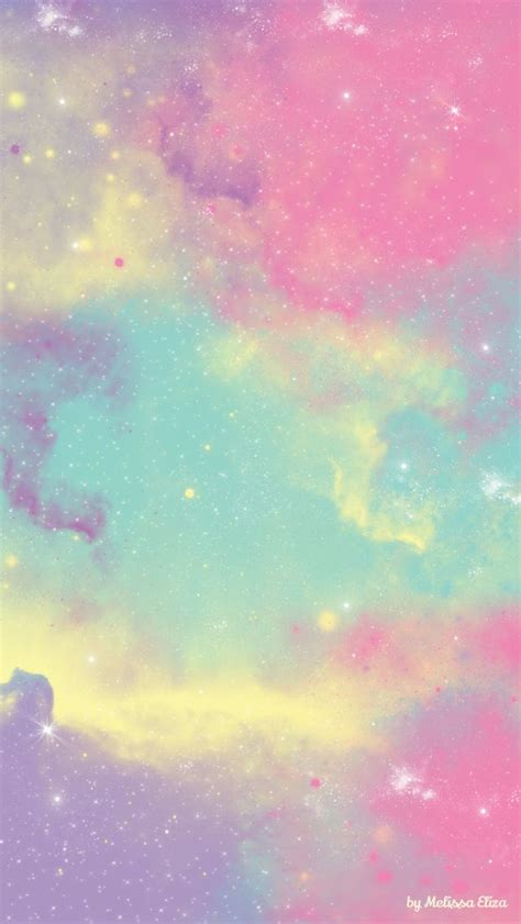 wallpaper iphone pastel pastel colorful galaxy check out more pastel iphone