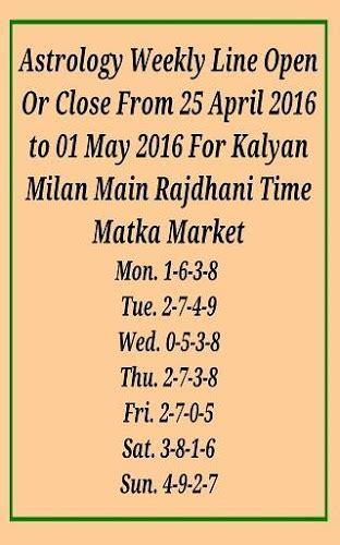 kalyan matka chart with pana satta matka free weekly gussing haruf jodi pleasetan mp3