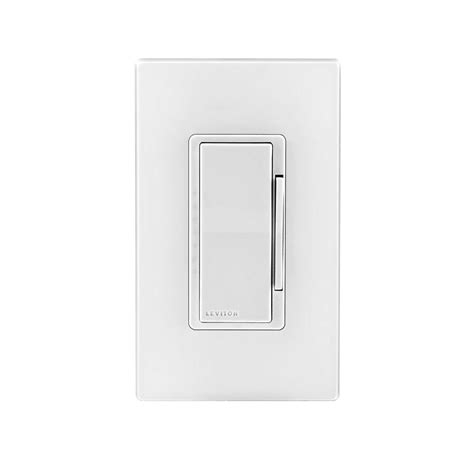 dimmable smart light switch leviton decora smart matching dimmer remote for use with