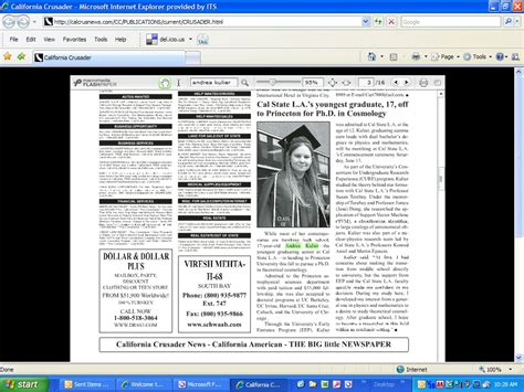 Sentinels The Crusaders Volume 2 csula in the news cal state la