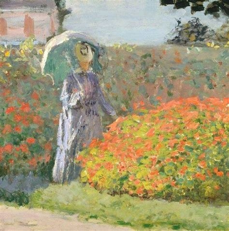 camille monet on a garden bench camille monet sitting on a garden bench detail claude