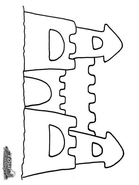 free coloring pages sand castle free a sand castle coloring pages