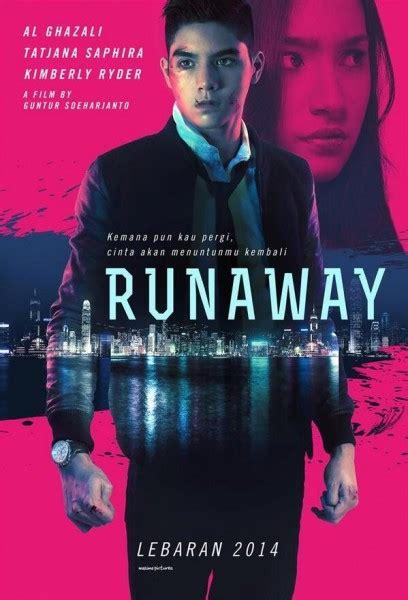 film gangster rilis runaway rilis trailer aksi al ghazali melawan gangster di