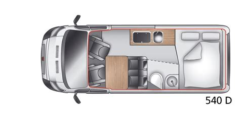 Mercedes Sprinter Floor Plan Fiat Ducato 540 Layout Campervans Pinterest Fiat