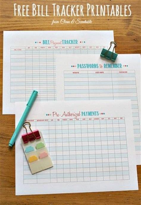 organize bills how to organize bills free printables printable budget