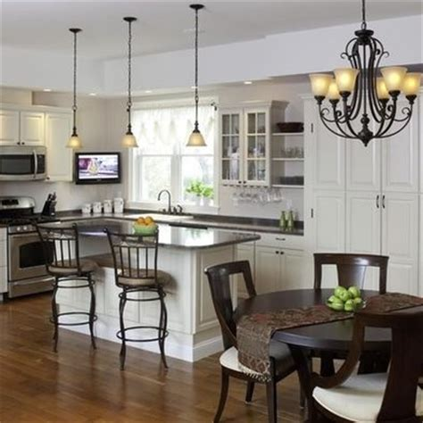 kitchen lighting over table 17 best images about lighting over kitchen island on