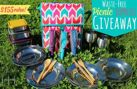 Company Picnic Giveaway Ideas - the best reusable gear for a waste free picnic plus giveaway hollywood homestead