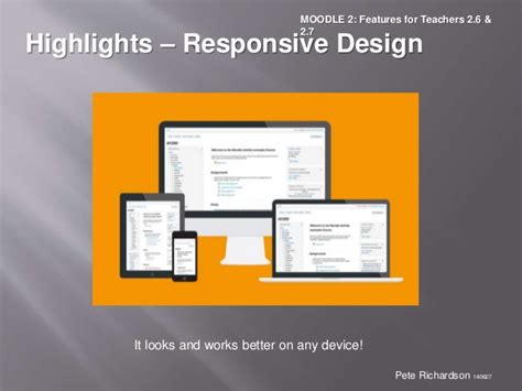 responsive layout maker pro youtube moodle2 features for teachers 2 6 and 2 7 v140627