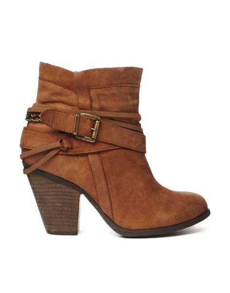 steve madden steve madden strapped heeled ankle
