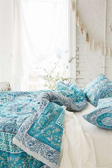 blue boho bedding 31 bohemian bedroom ideas decoholic