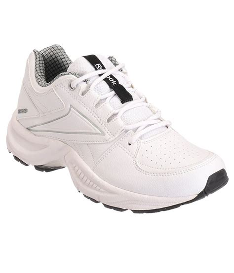 reebok comfort shoes reebok comfort run lp white and silver sports shoes price