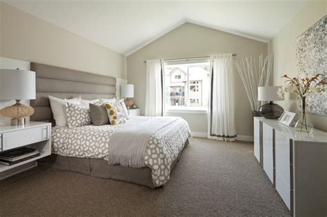mid century modern suite hstead transitional bedroom vancouver by i3 design