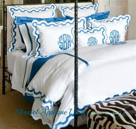 monogrammed bed linens 1000 ideas about applique monogram on