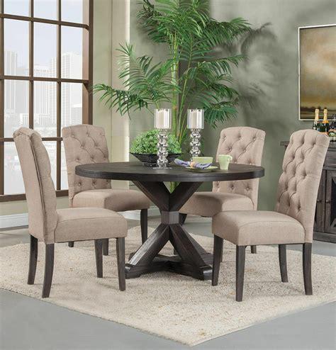 alpine newberry   dining room table set