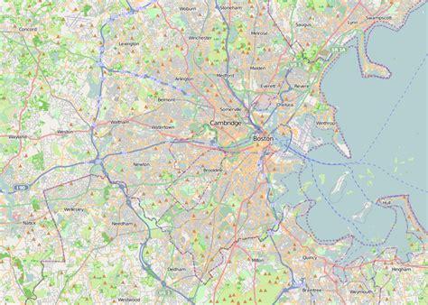 map of boston area file location map boston metropolitan area png