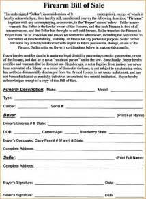 12 gun bill of sale form bibliography format
