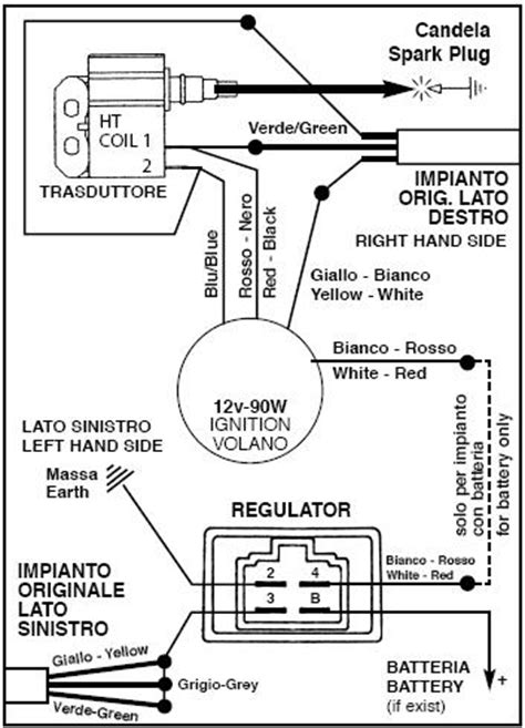 Key Switch Vespa Modern vespa wiring diagram conversion get free image about