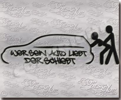 Sticker F Rs Auto Tuning by Tuningsticker Auto Funaufkleber Funsticker Wer Sein Auto Liebt