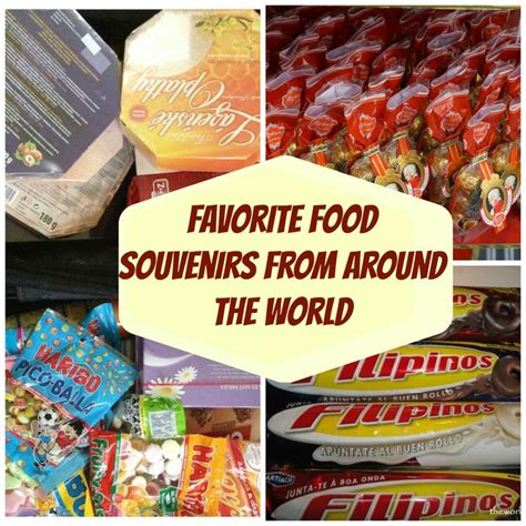 Souvenir Meal Bagtas Ransel 2 favorite food souvenirs from around the world the world is a book